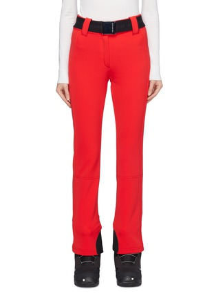 Main View - Click To Enlarge - GOLDBERGH - 'Pippa' belted zip cuff Schoeller® ski pants