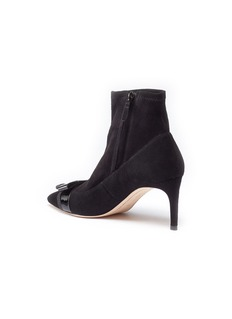 Sophia Webster 'Andie Bow' suede ankle boots