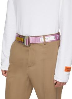 Heron Preston Logo jacquard buckled belt