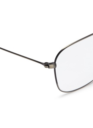 Detail View - Click To Enlarge - RAY-BAN - 'RX3610' metal square aviator optical glasses