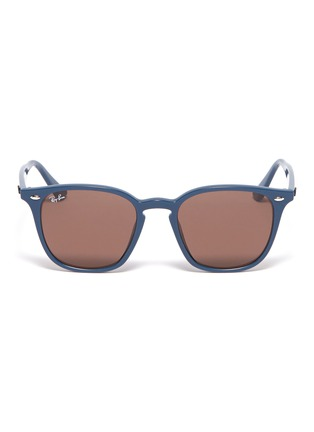 Main View - Click To Enlarge - RAY-BAN - 'RB4258' acetate square sunglasses