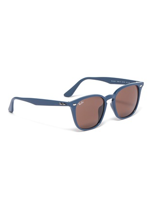 Figure View - Click To Enlarge - RAY-BAN - 'RB4258' acetate square sunglasses