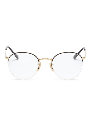 Main View - Click To Enlarge - Ray-Ban - 'RX3947' metal round optical glasses