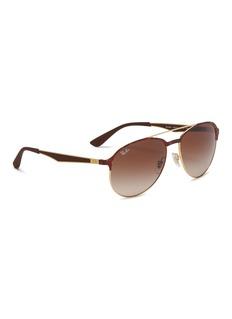 Ray-Ban 'RB3606' metal aviator sunglasses