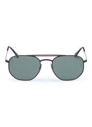 Main View - Click To Enlarge - RAY-BAN - 'RB3609' metal aviator sunglasses