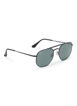 Figure View - Click To Enlarge - RAY-BAN - 'RB3609' metal aviator sunglasses