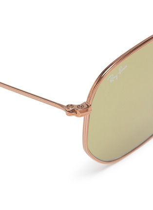 Detail View - Click To Enlarge - RAY-BAN - 'RB3548' metal hexagonal frame sunglasses