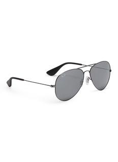 Ray-Ban 'RB3558' mirror metal aviator sunglasses