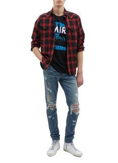 Amiri 'Thrasher' ripped slim fit jeans