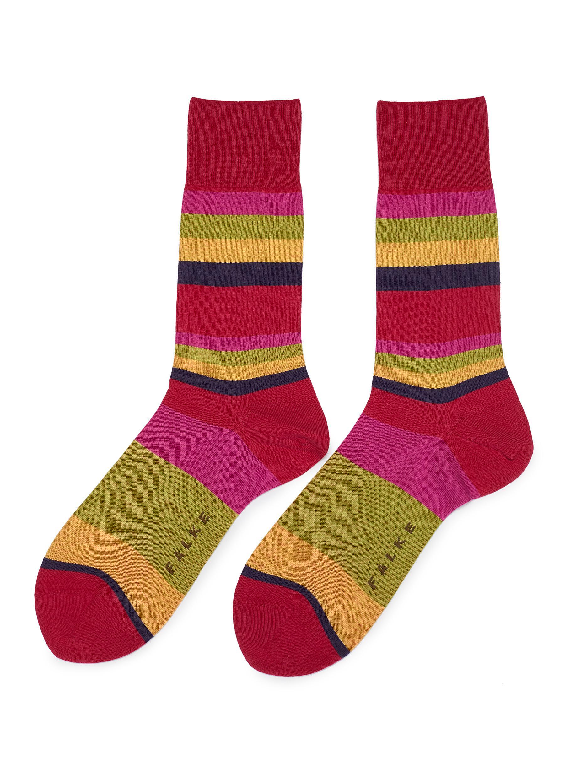 083708e11e3 FALKE.  Filter  stripe socks