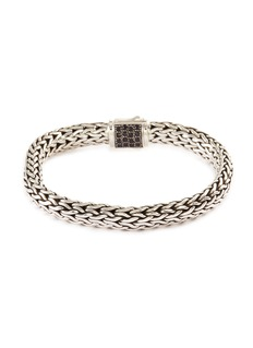 John Hardy 'Classic Chain' sapphire emerald silver bracelet