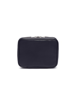 Figure View - Click To Enlarge - John Lobb - Travel shoe care case –Navy