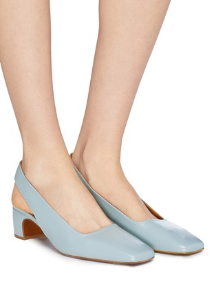 fecae60b262d Figure View - Click To Enlarge - BY FAR -  Danielle  slingback leather pumps