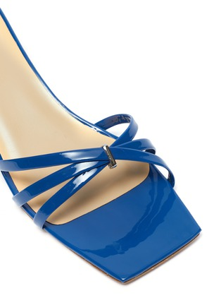 Detail View - Click To Enlarge - BY FAR - 'Libra' patent leather sandals