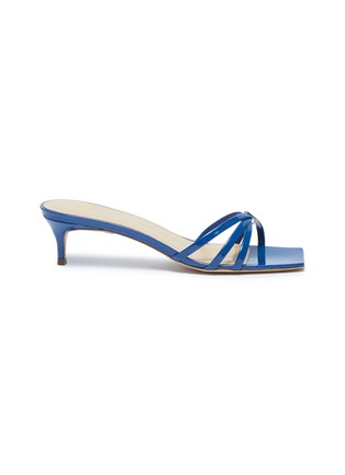 Main View - Click To Enlarge - BY FAR - 'Libra' patent leather sandals
