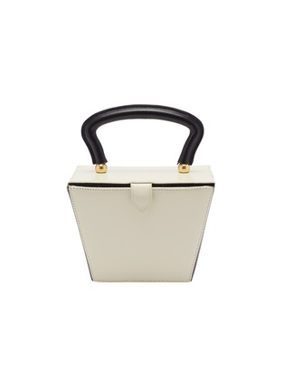 Main View - Click To Enlarge - STAUD - 'Mini Sadie' colourblock leather trapeze bucket bag