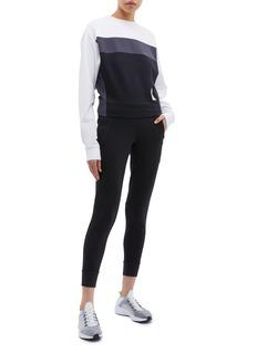 Calvin Klein Performance Logo print colourblock sweatshirt
