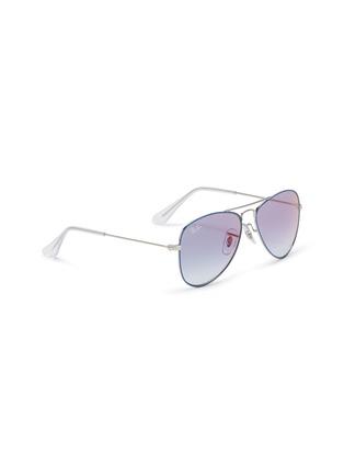 Figure View - Click To Enlarge - RAY-BAN - 'RJ9506S' metal aviator junior sunglasses