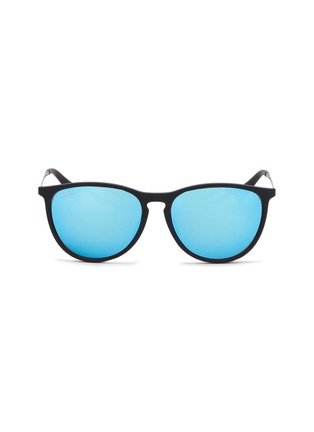 Main View - Click To Enlarge - RAY-BAN - 'RJ9060S' rubberised front metal square junior sunglasses