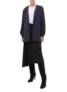 Tibi Reversible hooded blazer