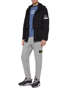 Stone Island Retractable hood detachable hem HOLLOWCORE jacket