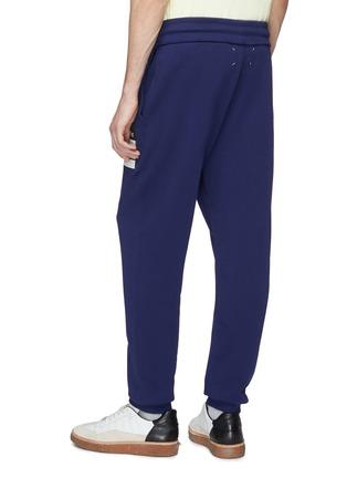 Back View - Click To Enlarge - Maison Margiela - 'Stereotype' appliqué sweatpants