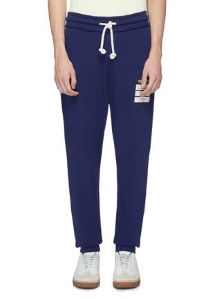 Main View - Click To Enlarge - Maison Margiela - 'Stereotype' appliqué sweatpants