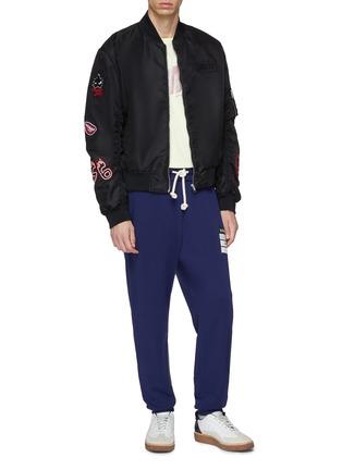 Figure View - Click To Enlarge - Maison Margiela - 'Stereotype' appliqué sweatpants