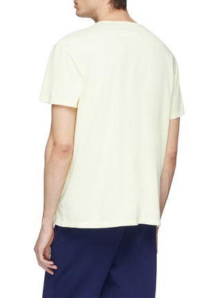 Back View - Click To Enlarge - MAISON MARGIELA - Faded logo print T-shirt