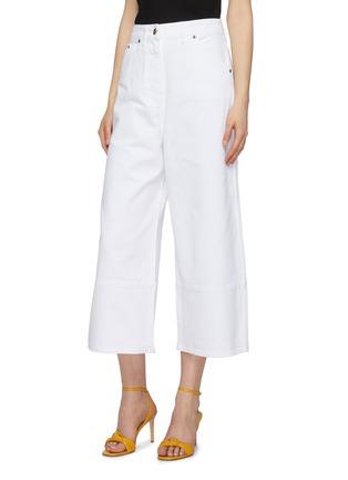 Front View - Click To Enlarge - JACQUEMUS - 'Le pantalon Prago' denim culottes