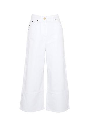 Main View - Click To Enlarge - JACQUEMUS - 'Le pantalon Prago' denim culottes