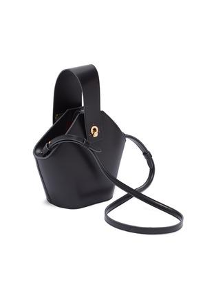 Detail View - Click To Enlarge - Danse Lente - 'Johnny' hexagonal mini leather bag