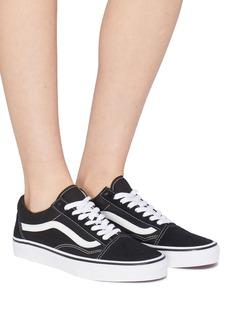 Vans 'Old Skool' suede panel canvas sneakers