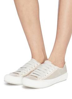 Pedro García 'Parson' satin sneakers