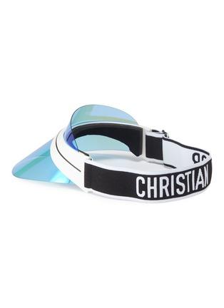Figure View - Click To Enlarge - Dior - 'DiorClub1' logo sweatband visor sunglasses