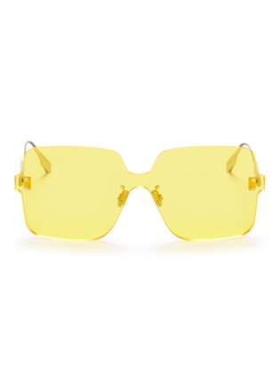 Main View - Click To Enlarge - DIOR - 'Dior Color Quake 1' rimless square sunglasses