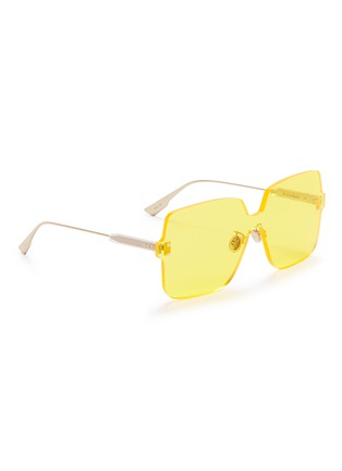 Figure View - Click To Enlarge - DIOR - 'Dior Color Quake 1' rimless square sunglasses