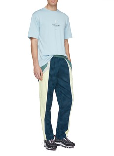 Daily Paper 'Fuka' check plaid patchwork track pants