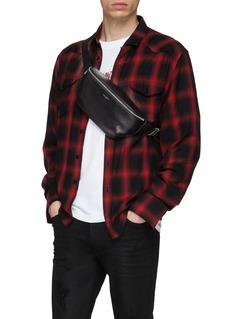 SAINT LAURENT 'Classic' calfskin leather bum bag
