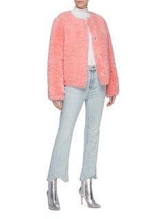 Yves Salomon Lambskin shearling jacket