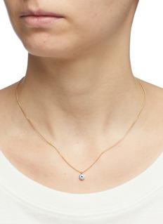 Isabel Marant Evil eye pendant necklace
