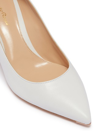 Detail View - Click To Enlarge - GIANVITO ROSSI - Leather skimmer pumps
