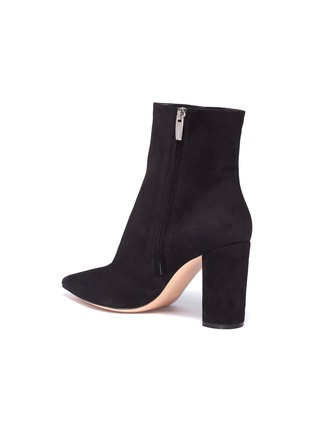 Detail View - Click To Enlarge - Gianvito Rossi - Suede ankle boots
