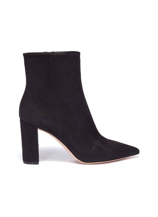 Main View - Click To Enlarge - Gianvito Rossi - Suede ankle boots