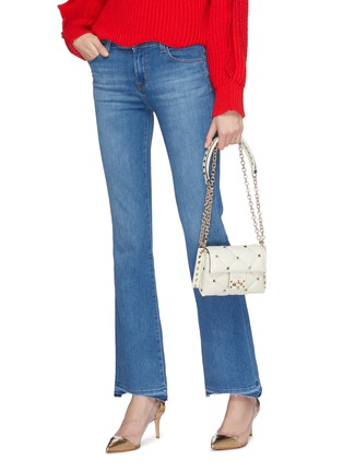 Front View - Click To Enlarge - VALENTINO - 'Candystud' mini quilted leather shoulder bag