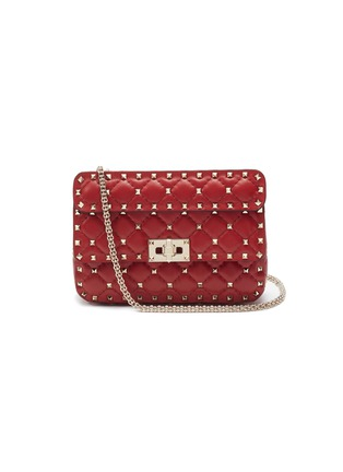5d6aea18b41f Valentino.  Rockstud Spike  small quilted leather ...