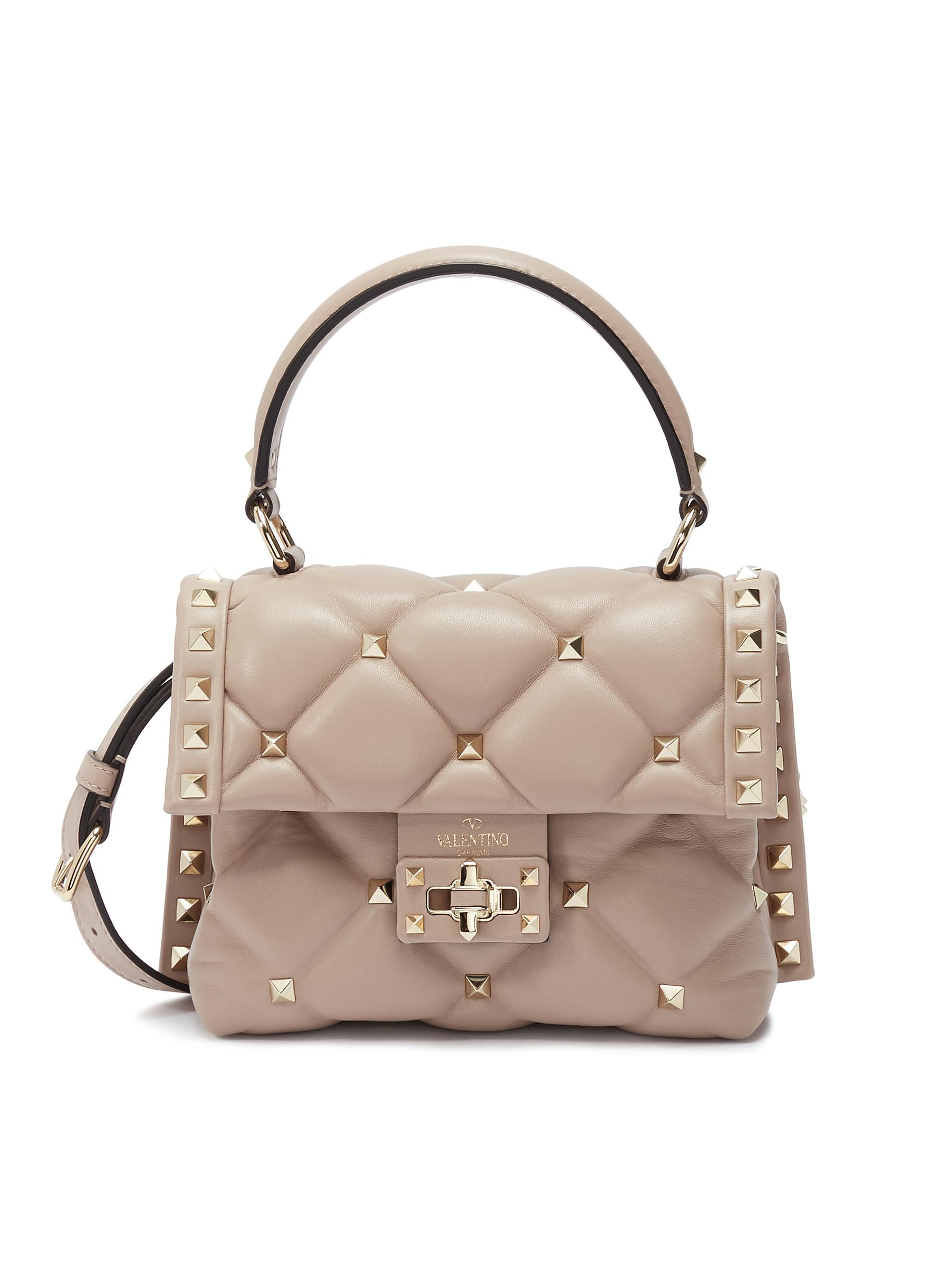 5769407faa Main View - Click To Enlarge - VALENTINO - 'Candystud' mini quilted leather  shoulder