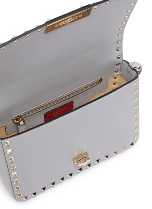 Detail View - Click To Enlarge - VALENTINO - Rockstud leather shoulder bag