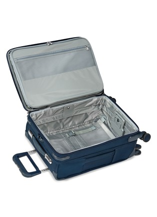 Detail View - Click To Enlarge - BRIGGS & RILEY - Baseline carry-on expandable spinner suitcase – Navy