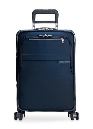 Main View - Click To Enlarge - BRIGGS & RILEY - Baseline carry-on expandable spinner suitcase – Navy